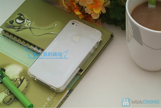 Ốp lưng Silicon cho iPhone 4/4S hoặc iPhone 5 - 5
