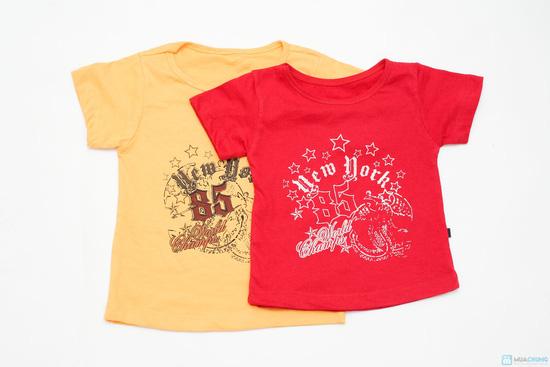 Combo 3 áo phông cotton cho bé trai - 6