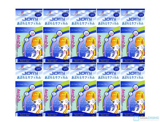 combo 05 gói giấy thấm dầu 70 tờ JOMI - 4