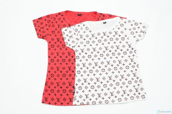 combo 2 áo phông cổ tron cho bé gái - 2
