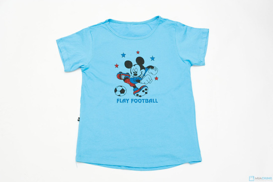 Combo 3 áo phông cotton cho bé trai - 2