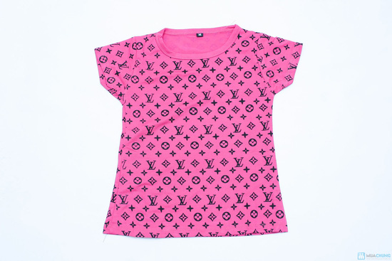 combo 2 áo phông cổ tron cho bé gái - 4
