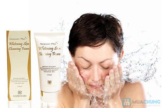Sữa rửa mặt làm trắng và mịn da Gowoori - 4