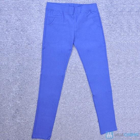 Chân thon, dáng nuột với quần skinny trơn - Chỉ với 85.000đ/chiếc - 4