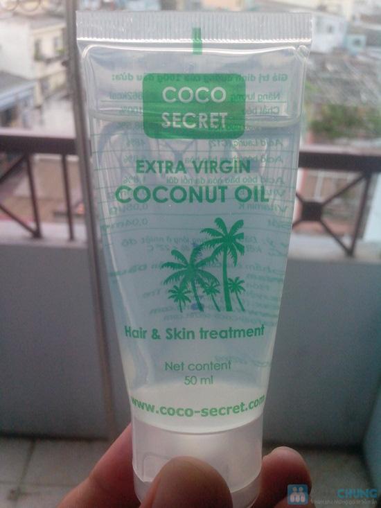 5 Tuýp Dầu dừa tinh khiết nguyên chất Coco Secret 50ml - Chỉ 90.000đ - 1