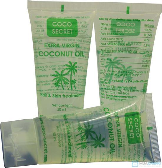 5 Tuýp Dầu dừa tinh khiết nguyên chất Coco Secret 50ml - Chỉ 90.000đ - 4