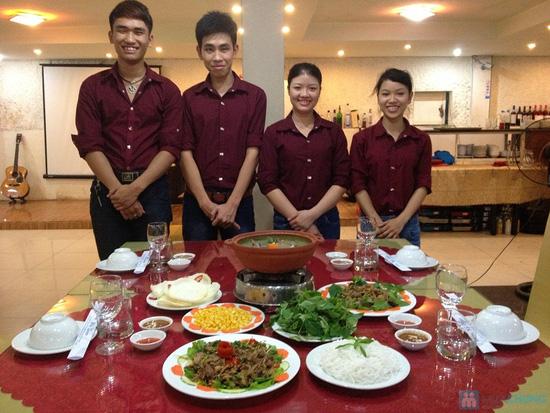 Set ăn Ngỗng sư tử dành cho 3-4 người tại NH Hội Quán Vinapro - chỉ 218.000đ - 8
