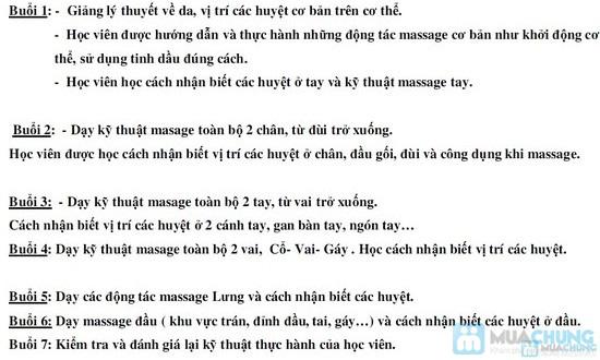 Khóa học massage Body - Liệu Pháp Thụy Điển chuyên sâu - 1