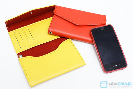 Ví đựng Iphone đa năng - Bảo vệ hiệu quả cho các dòng Iphone và giấy tờ cá nhân của bạn - 3
