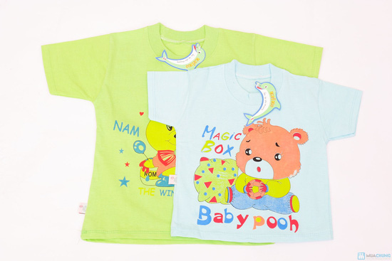 Combo 2 áo phông cho bé trai - 2