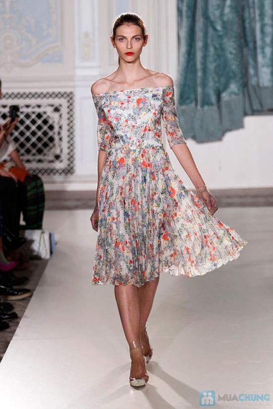 váy lanh điệu đà - 3