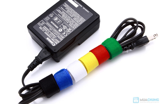 Combo 12 miếng dán thu gọn dây điện - gọn gàng nhà cửa - 4