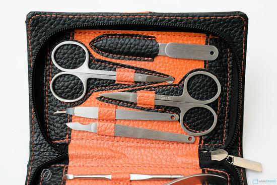Bộ dụng cụ cắt móng 10 món bao da - 3
