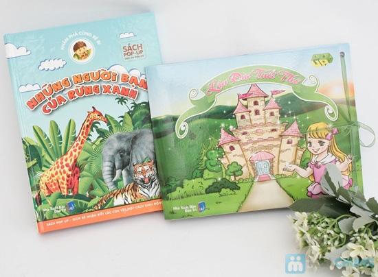 Lâu đài tuổi thơ + Những người bạn của rừng xanh. Chỉ với 65.000đ - 1