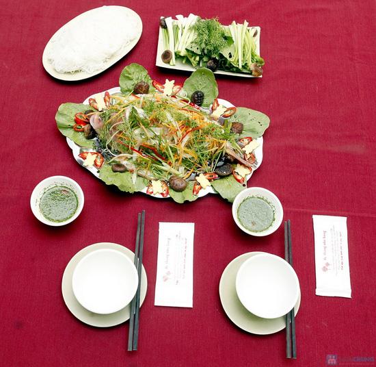 Thơm ngon với Cá Điêu Hồng hấp tàu xì - 4