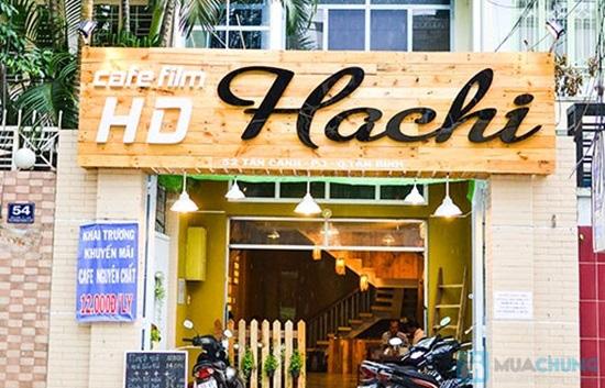 Combo 2 vé xem phim + 2 thức uống tại Cafe HD Hachi - 8