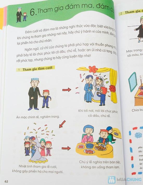 Bộ 3 cuốn Rèn luyện kỹ năng sống dành cho học sinh (Kỹ năng vận động + Kỹ năng sống + Kỹ năng giao tiếp) - 16