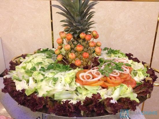 Buffet trưa (hơn 70 món) Á - Âu - Việt tại Nhà hàng Panorama (Khách sạn 3 sao New Epoch) - Chỉ 139.000đ - 6