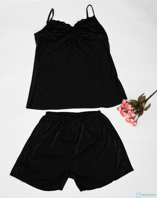 bộ quần áo ngủ sexy cho bạn nữ - 4