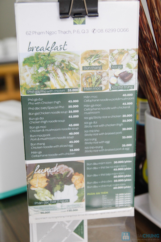 Phiếu ăn sáng mang đậm phong cách Hà Nội - 9