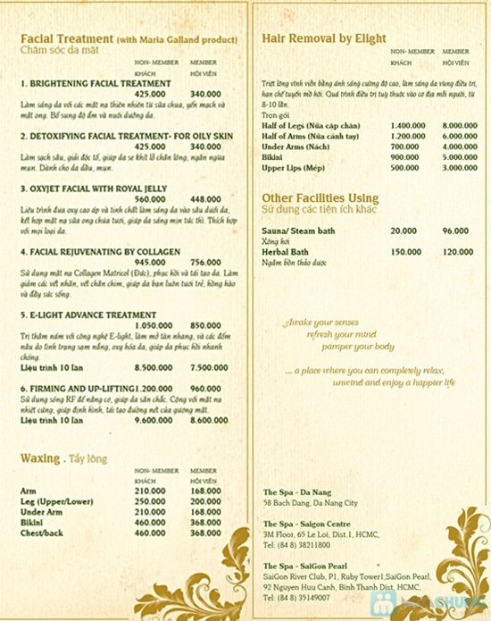 Chọn 01 trong 02 dịch vụ massage body chuyên sâu hoặc massage body trị liệu tại Thé Spa Riverside Đà Nẵng - Chỉ 240.000đ - 2
