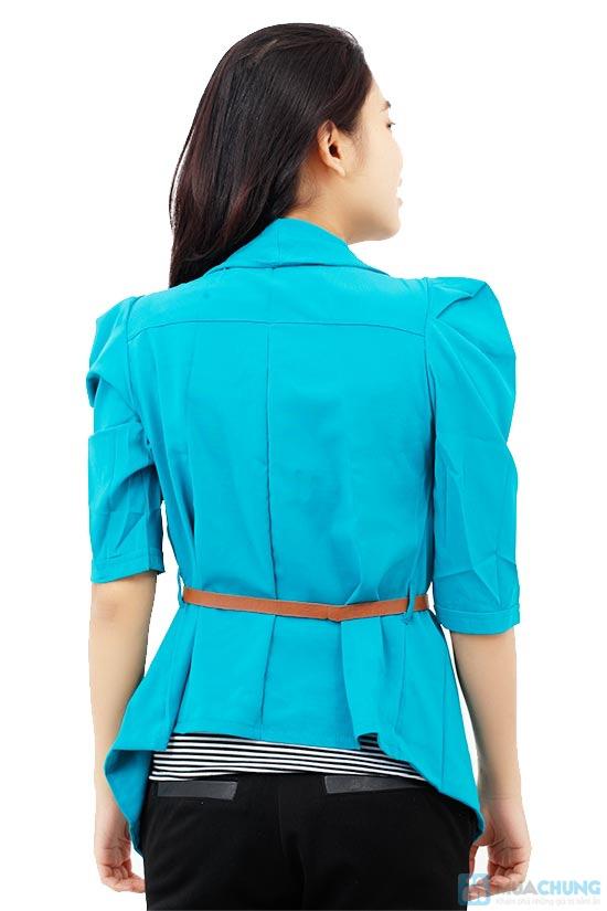 Bộ áo khoác kiểu + áo thun+ dây nịt - Chỉ 115.000đ/01 bộ - 4