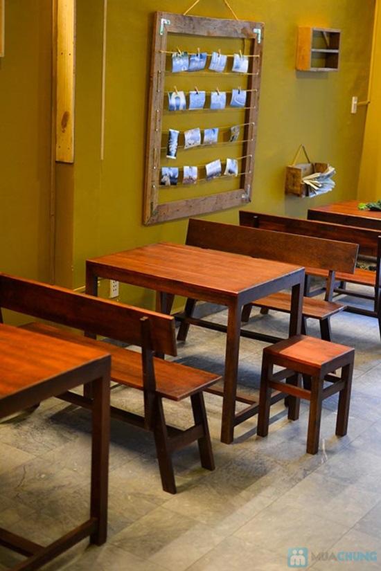 Combo 2 vé xem phim + 2 thức uống tại Cafe HD Hachi - 4