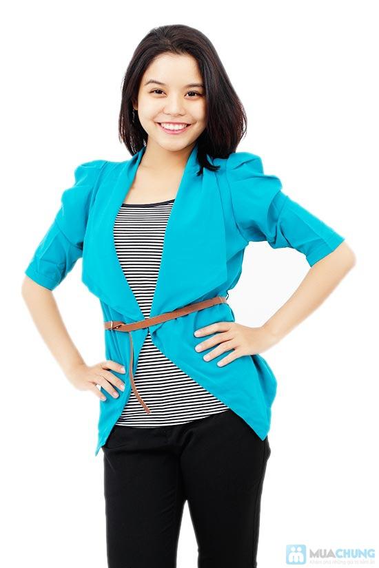 Bộ áo khoác kiểu + áo thun+ dây nịt - Chỉ 115.000đ/01 bộ - 2