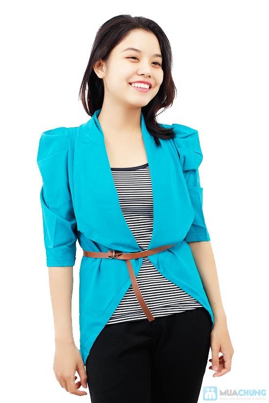 Bộ áo khoác kiểu + áo thun+ dây nịt - Chỉ 115.000đ/01 bộ - 3