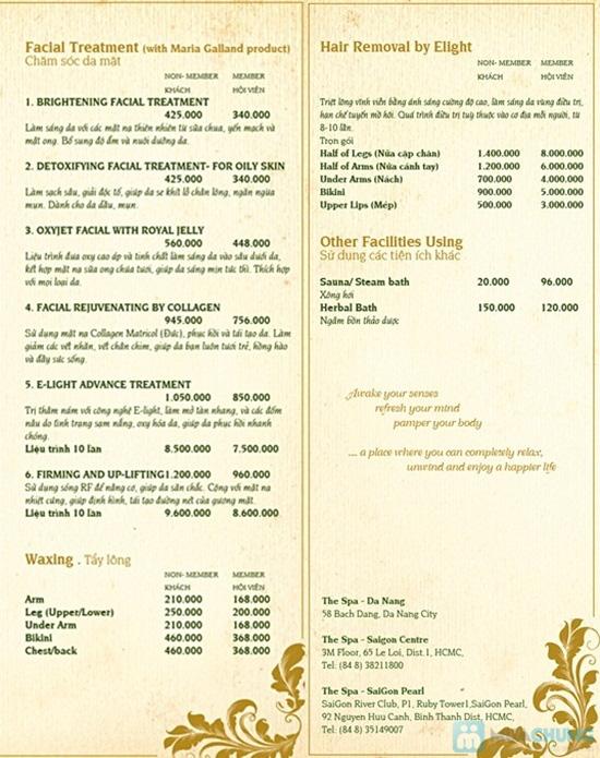 Massage chân đá nóng (60 phút) tại Thé Spa Riverside Đà Nẵng - Chỉ 126.000đ - 2