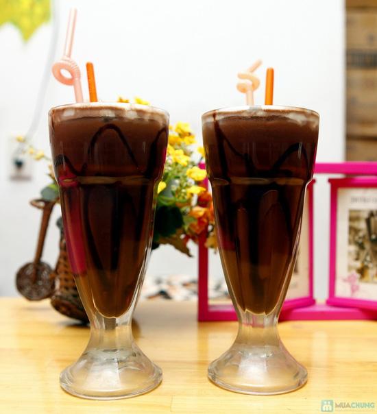 Set socola kem tươi kèm bánh tráng cho 2 người - 15