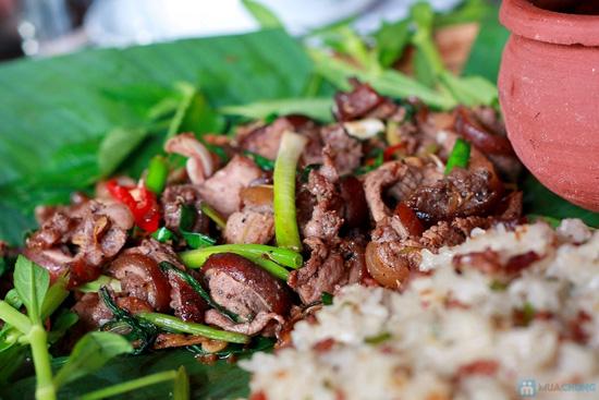 Set ăn Lợn Mán đặc biệt tại Nhà hàng Rừng Trong Phố - Chỉ 397.000đ - 7