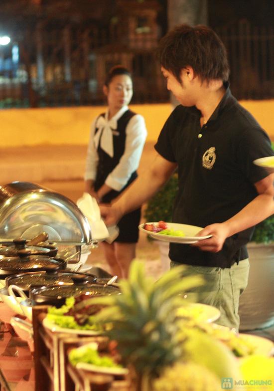 Tiệc nướng buffet tối thứ 6 hàng tuần tại Khách sạn Habour View - chỉ 60.000đ - 2