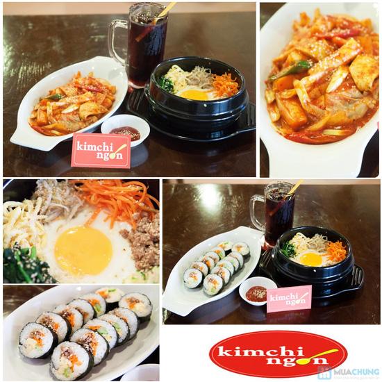 Lựa chọn 01 trong 02 set menu dành cho 01 người tại  Quán Kim Chi Ngon - Chỉ 66.000đ - 14