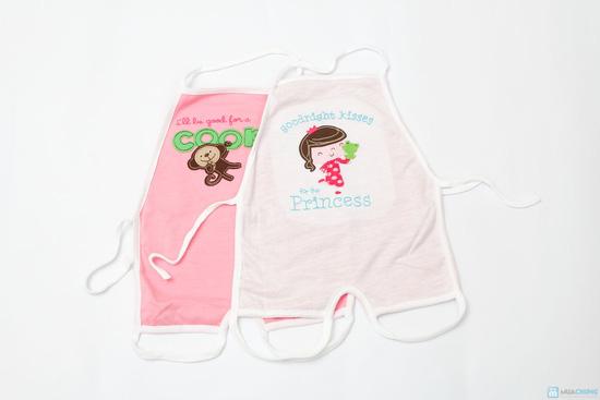 Combo 3 yếm áo dạng Natra cho bé - 12