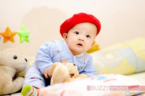 Chụp ảnh cho bé yêu tại Buzz Studio - 7