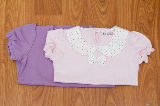 Combo 2 áo phông cho bé gái - 8