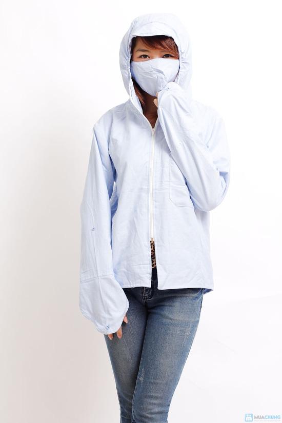 Áo chống nắng 2 lớp kèm khẩu trang - 1