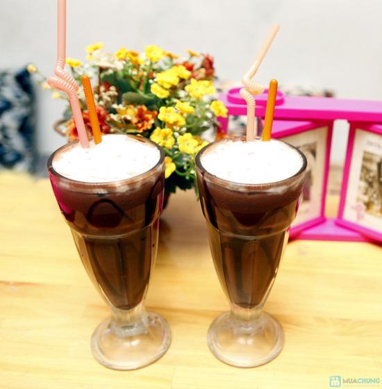 Set socola kem tươi kèm bánh tráng cho 2 người - 16