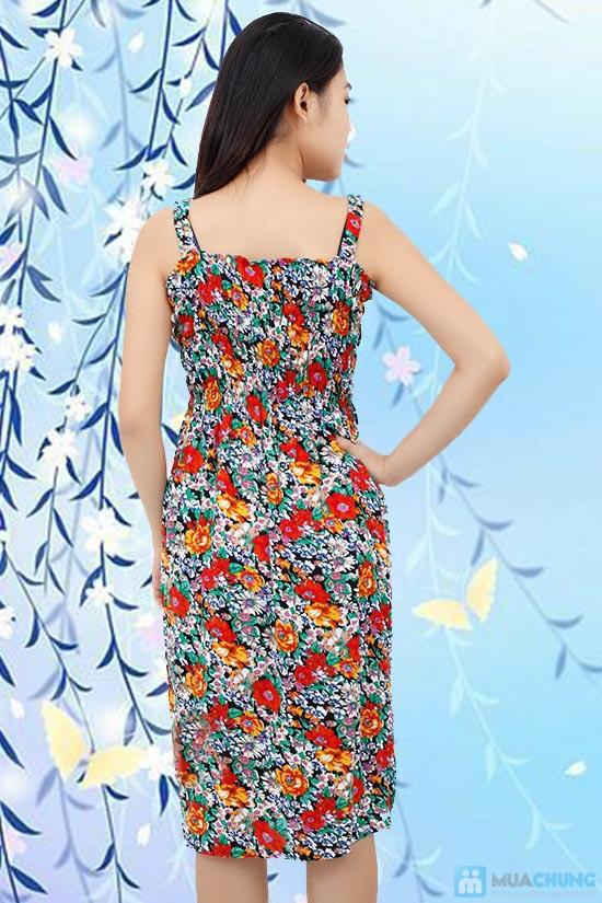 Váy hoa lanh 2 dây cho mùa hè năng động, tự tin - Chỉ 80.000đ/ 1 chiếc - 4