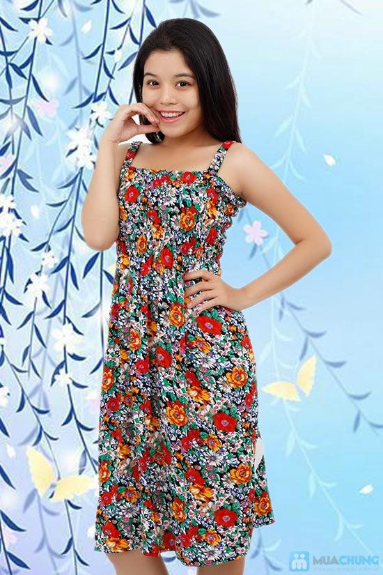 Váy hoa lanh 2 dây cho mùa hè năng động, tự tin - Chỉ 80.000đ/ 1 chiếc - 3