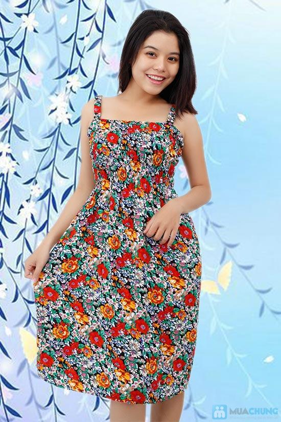 Váy hoa lanh 2 dây cho mùa hè năng động, tự tin - Chỉ 80.000đ/ 1 chiếc - 5