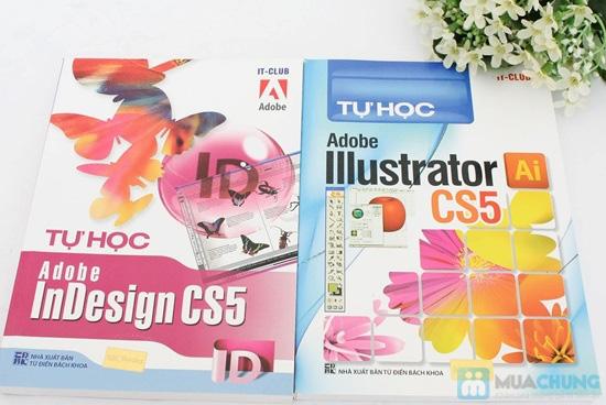 Tự học Adobe Illustrator CS5 + Tự học Adobe InDesign CS5. Chỉ với 64.000đ - 1