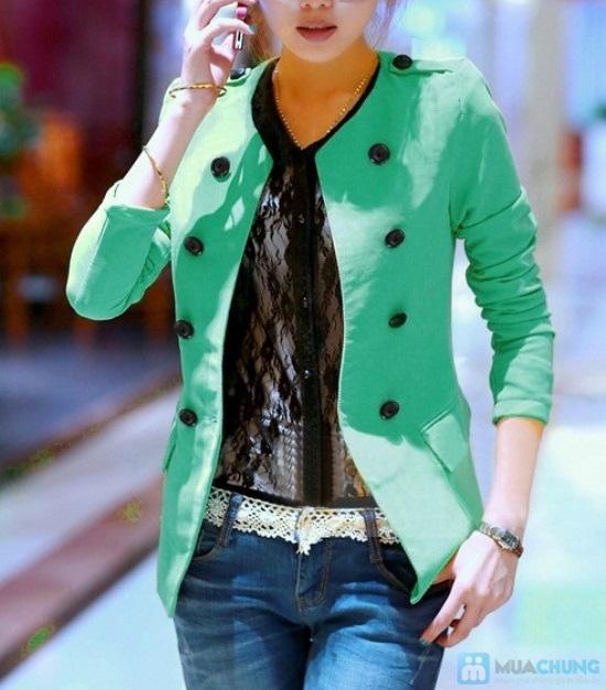 Áo khoác vest phong cách Hàn Quốc - Chỉ 130.000đ - 1