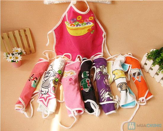 Combo 3 yếm áo dạng Natra cho bé - 2
