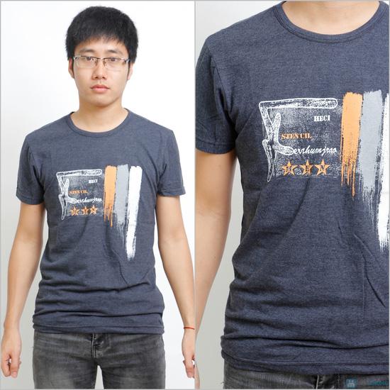 combo 2 áo phông có tròn cho Nam - 5