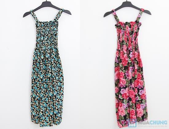 Váy hoa lanh 2 dây cho mùa hè năng động, tự tin - Chỉ 80.000đ/ 1 chiếc - 1