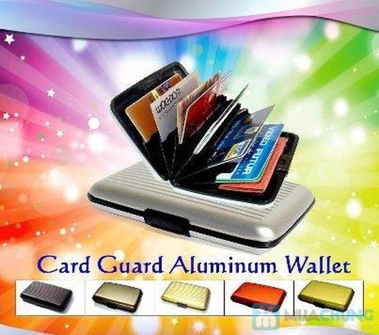 Ví nhôm Card-Guard - Vệ sỹ bảo vệ thẻ tín dụng, cardvisit, thẻ ATM - 1