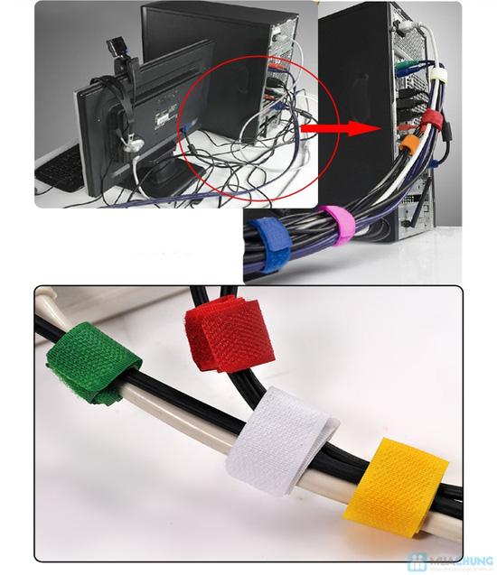 Combo 12 miếng dán thu gọn dây điện - gọn gàng nhà cửa - 1