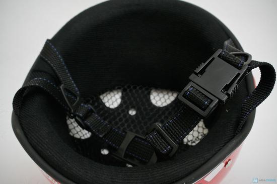 mũ bảo hiềm có kính cho người lớn hiệu HKT - 15